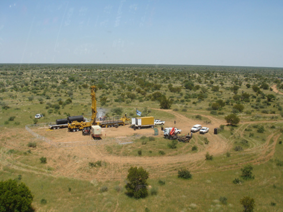 drilling for coal based methane