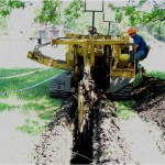 Laying Gas Line
